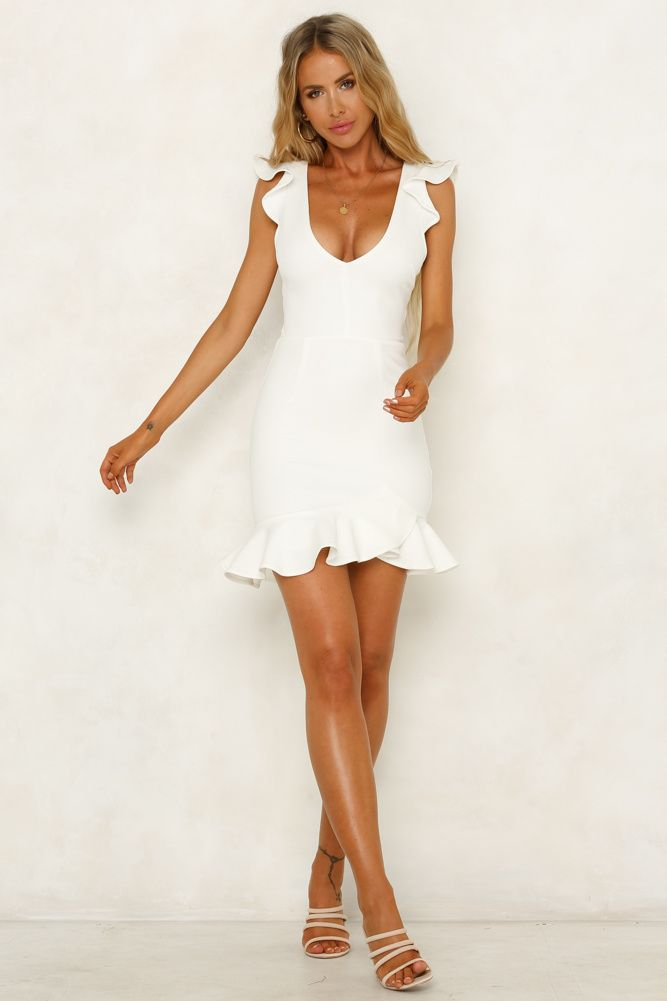 b0eae400a24 Take The Reigns Dress White in 2019