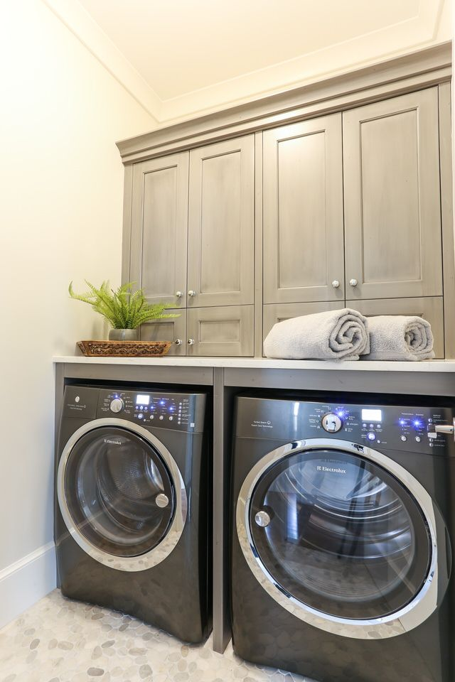 28 Modern Laundry Rooms Adopting Scandinavian Ideas Laundry Room