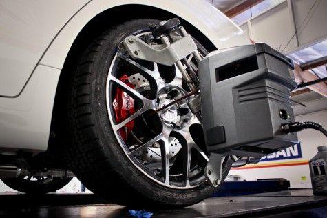 Infiniti G37x with Big Brake Kit