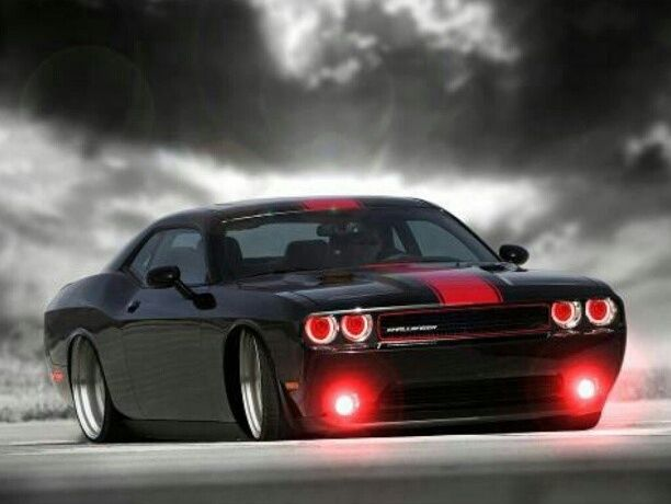 Visit The MACHINE Shop Café... ❤ Best of Dodge @ MACHINE ❤ (2013 Dodge Challenger SRT8)