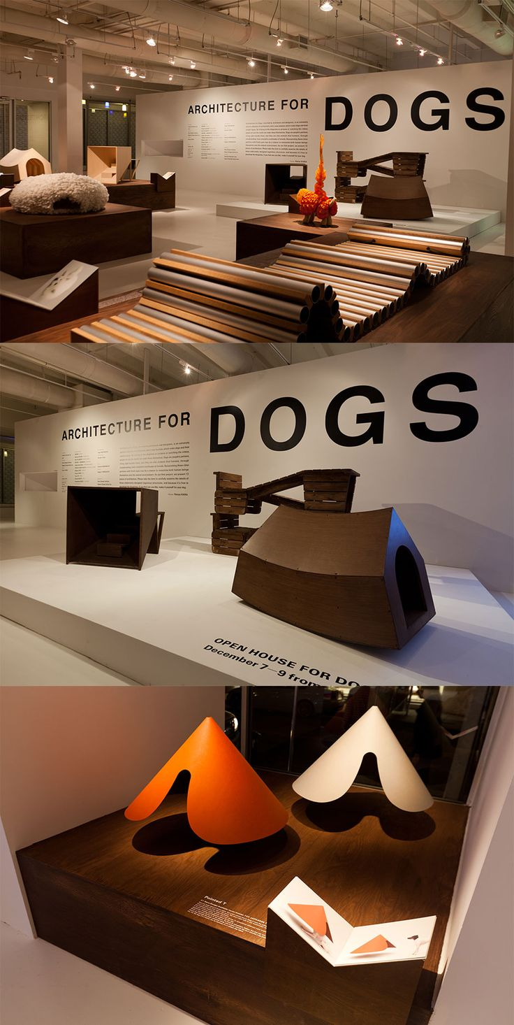 Architecture for Dogs - exhibition in Miami is now open