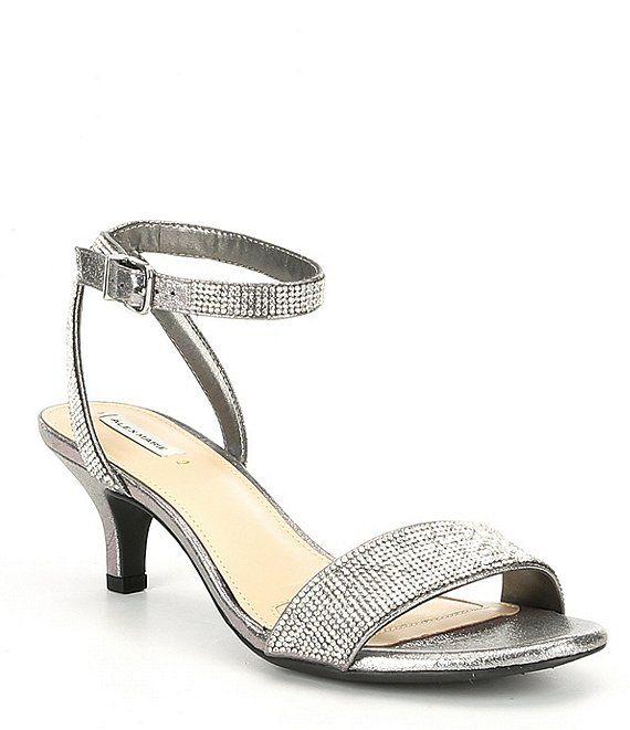 Alex Marie Nallie Shimmer Banded Sandals Evening Sandals