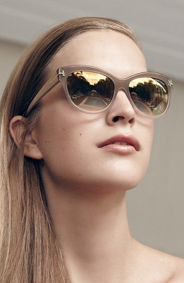 Lily 56mm Cat Eye Sunglasses Tom Ford And Ford