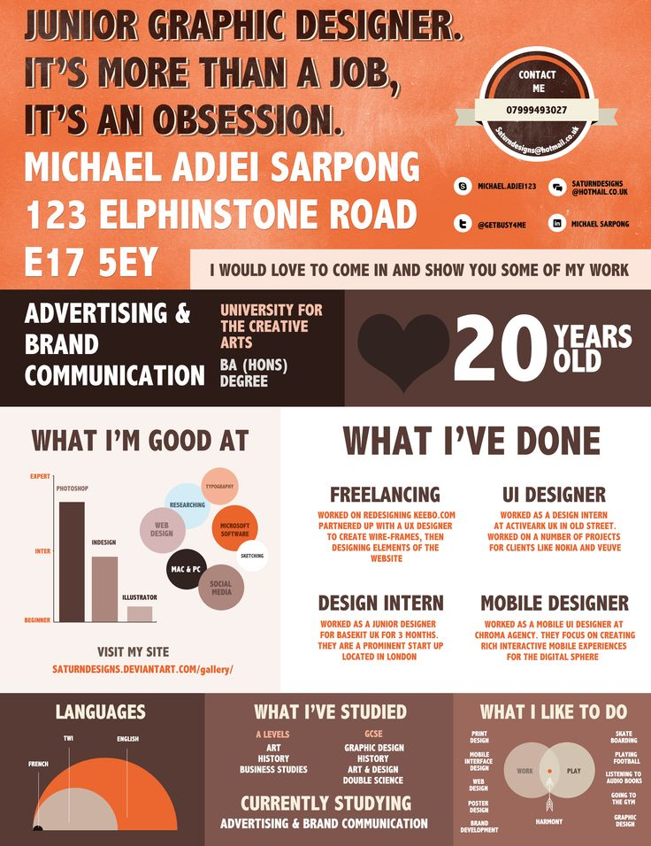 78 best Resumes images on Pinterest Resume, Design resume and Info