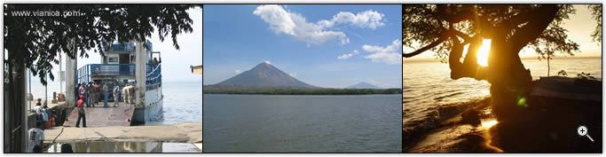 Information about Lake Nicaragua, and the Island Ometepe (Survivor was filmed here I believe) ---- sooo beautiful, this place. Was there nearly 2 years ago, dreaming of one day returning.