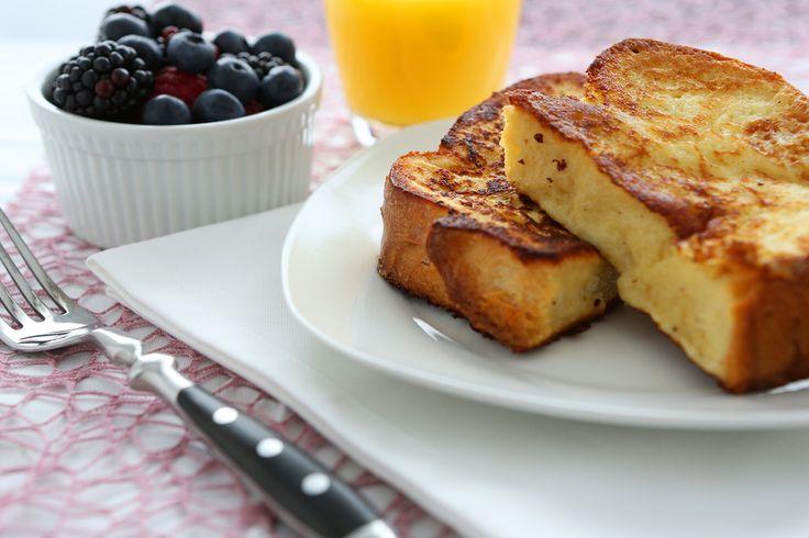 Vanilla Bean Almond French Toast