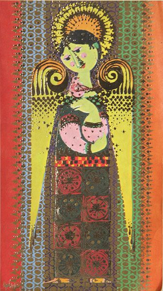 Bjorn Wiinblad Print, Have this print, one of my favs!