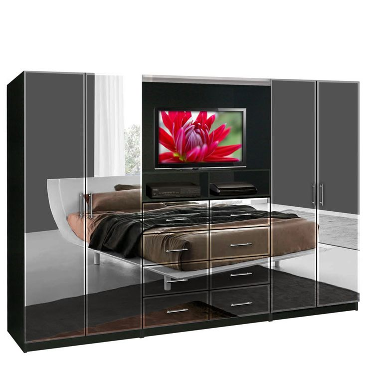 Aventa TV Wall Unit for Bedrooms  Free Standing Bedroom Wardrobe Best 25 wall units ideas on Pinterest Tv unit