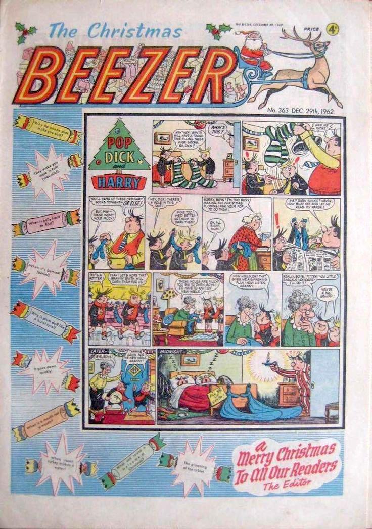 Christmas Beezer 1962