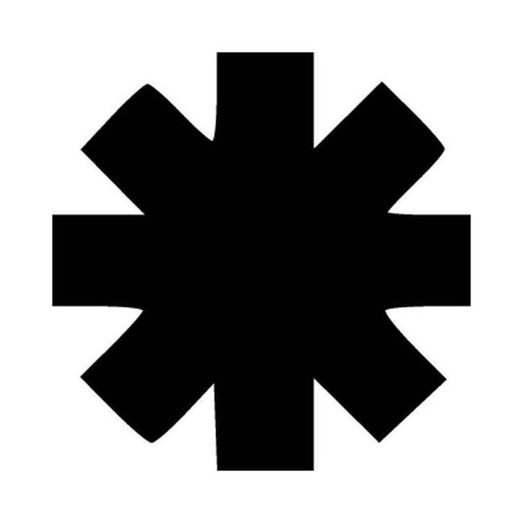 Red Hot Chili Peppers Band Logo Vinyl Decal Sticker  BallzBeatz . com