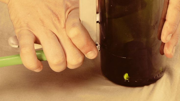 Cut Glass Wine Bottles perfectly every time! DIY Tutorial