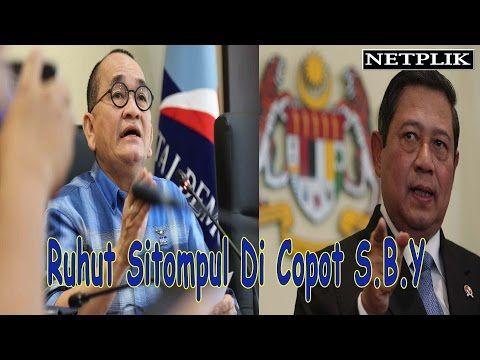SBY Copot Ruhut Sitompul Dari Koordinator Juru Bicara Partai Demokrat