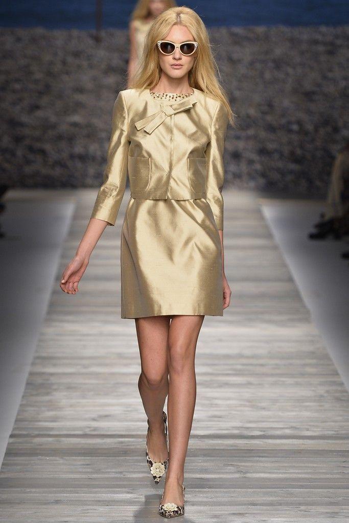 Blugirl MIlan Fashion Week RTW Spring 2014