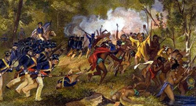 Battle of Tippecanoe Includes background information, a timeline, a 3D battlefield and more