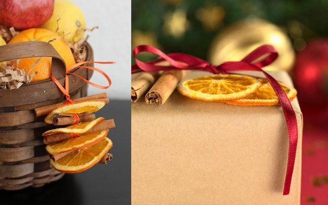 Oltre 25 fantastiche idee su composizioni floreali di - Arance secche decorazione ...