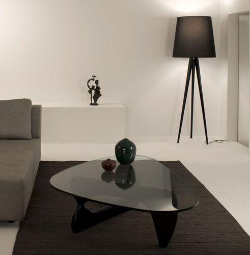 Lampe sur pied / design original / en tissu / trépied TRIANA by Otto Canalda & Ramón Úbeda METALARTE