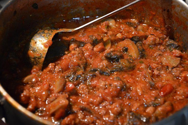 Sugo ai funghi porcini #sardegna #sardinia #recipe #tomato #mushroom