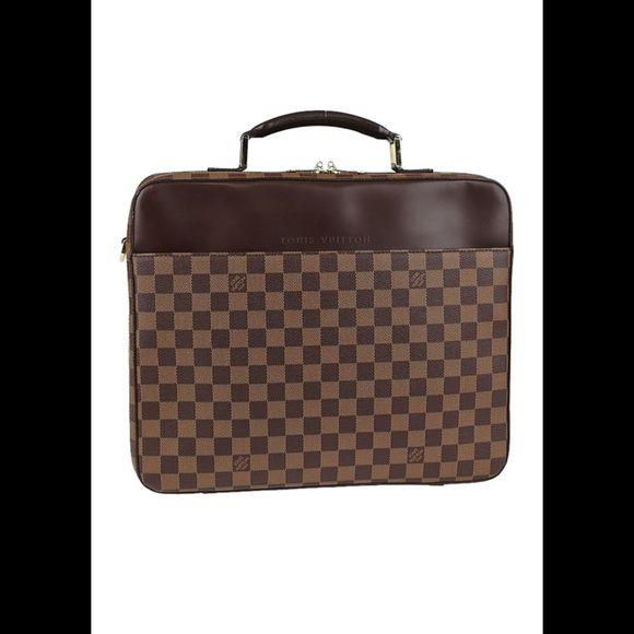 Louis Vuitton laptop bag Newly repair zipper with receipt from Louis Vuitton Louis Vuitton Bags Laptop Bags