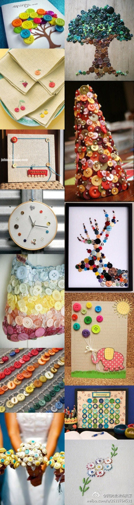 Manualidades con botones: Buttoncrafts, Button, Button Art, Buttons Buttons, Button Projects, Button Crafts, Button Ideas, Craft Ideas, Diy