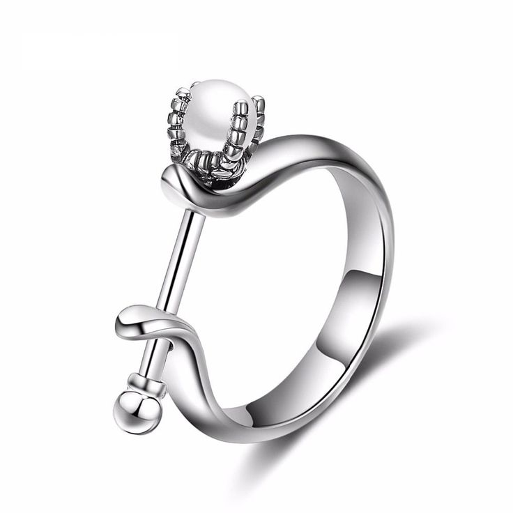 925 Sterling Silver Rings for Women Real White Pearls Ring Romantic Fine Jewelry #TARDOO #pearl