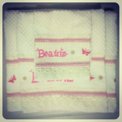 Conj. de toalhas Beatriz