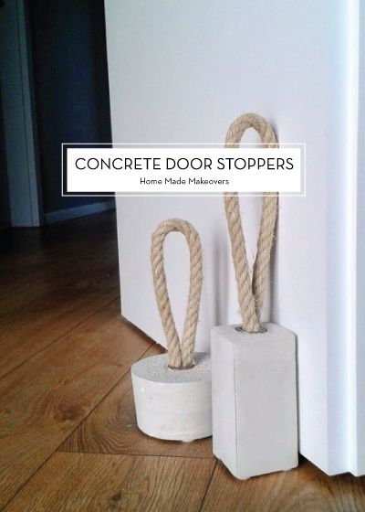 12 JULY DIYS – Concrete Door Stoppers
