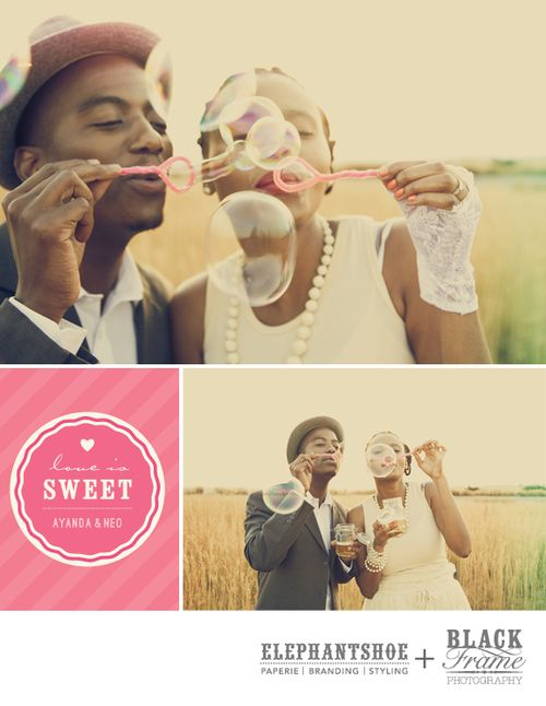 Neo & Ayanda's engagement shoot styled by Elephantshoe and photographed by Blackframe photography