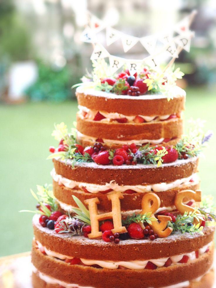 ネイキッドケーキ♡