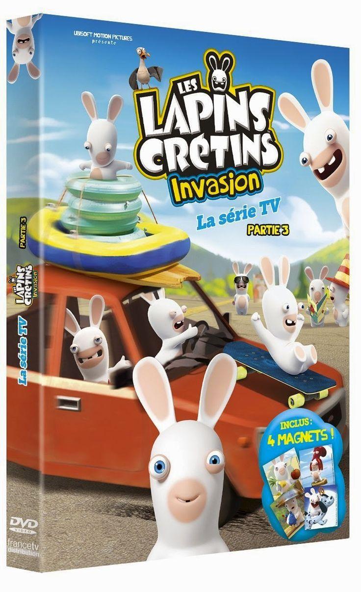 Goodies Les Lapins Crétins: DvD : Les Lapins Crétins Invasion Partie 3