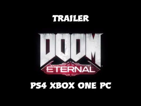 DOOM ETERNAL TRAILER PS4 Xbox one PC - YouTube | Playstation