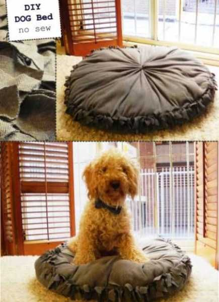 10 DIY Dog Beds | Home and Garden | CraftGossip.com comes with instructions!!!