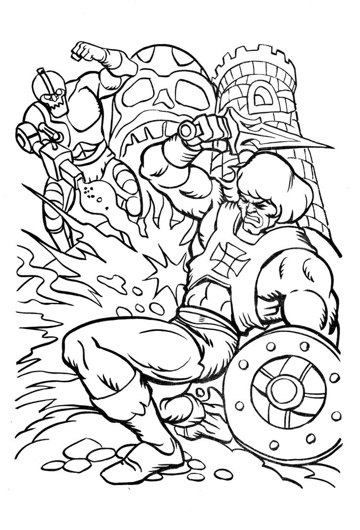 Coloring pages universe - James Eatock Presents The He Man And She Ra Blog Coloring
