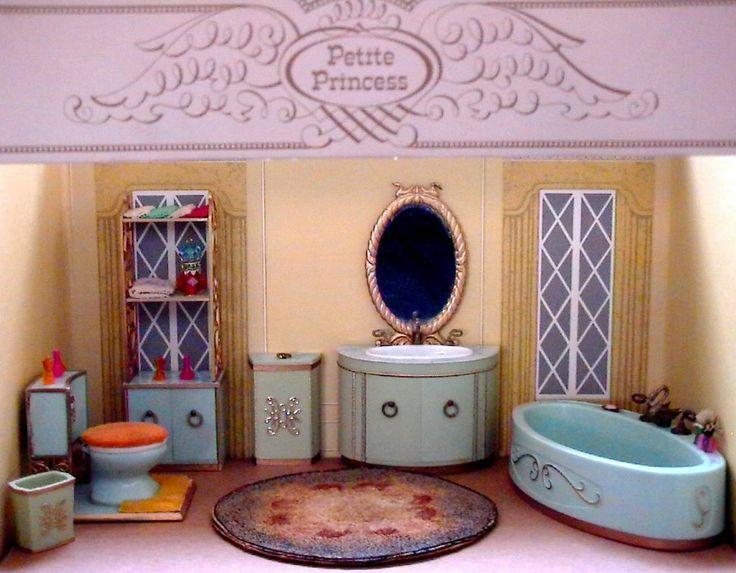 Petite Princess Princess Patti Ideal Refrigerator Freezer COMPLETE With Box  | Ideal Petite Princess Dollhouse Miniatures | Pinterest | Refrigerator  Freezer, ...