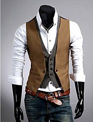 Men's Casual Striped/Pure Sleeveless Cotton ) – USD $ 20.59Gain huge discount by using online coupon codes.