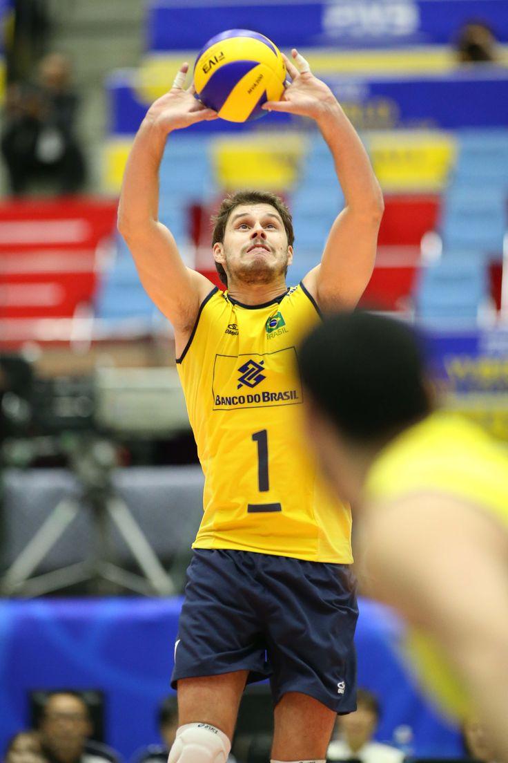 bruno rezende brazil best volleyball setter 2 Brazils Success According To Bruno