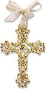 amazoncom 50th anniversary cross ornament beautiful u0026 traditional 50th anniversary gift idea