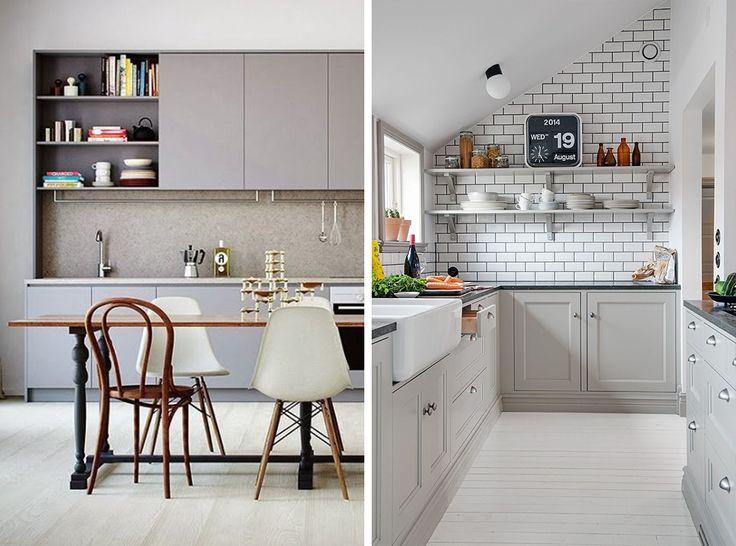 Nej, man måste faktiskt inte ha ett vitt kök om man inte absolut vill (via Bloglovin.com )