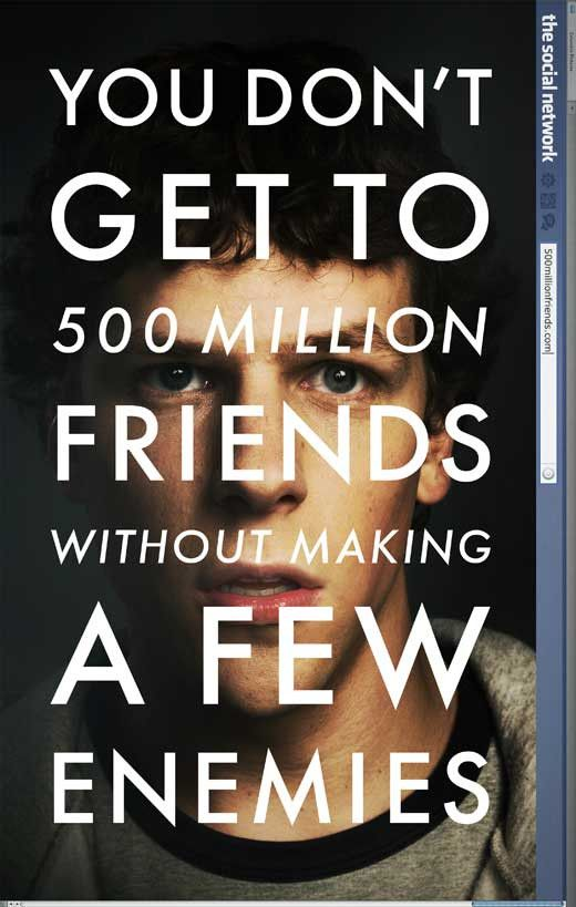 The Social Network 27x40 Movie Poster (2010)