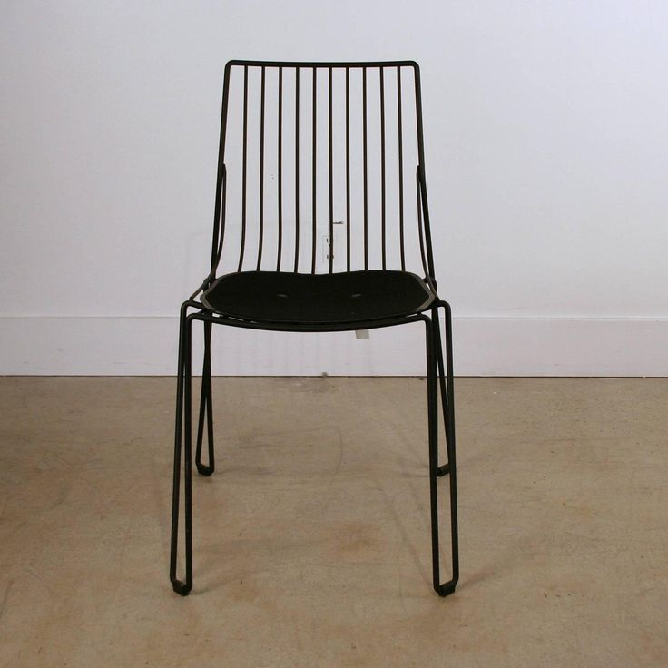 Global Views Wiggle Chair: 17 Best Ideas About Black Dining Chairs On Pinterest