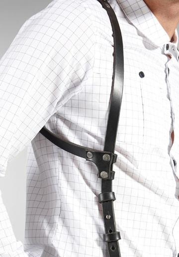 WRATH ARCANE Leather Suspenders // Revolve Clothing