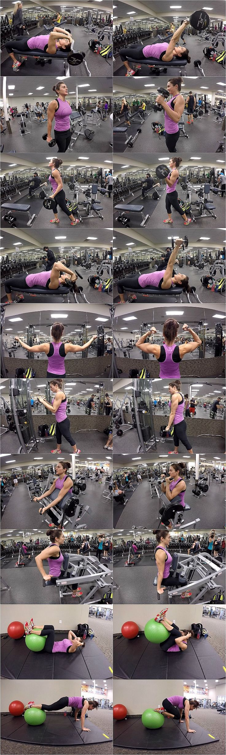 10 WEEKS TO FITNESS DAY 39-BICEPS, TRICEPS, & ABS