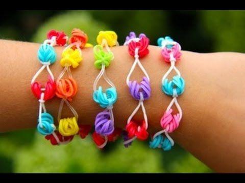 Rainbow Loom Nederlands - Honolulu Bracelet (Original Design) Loom bands