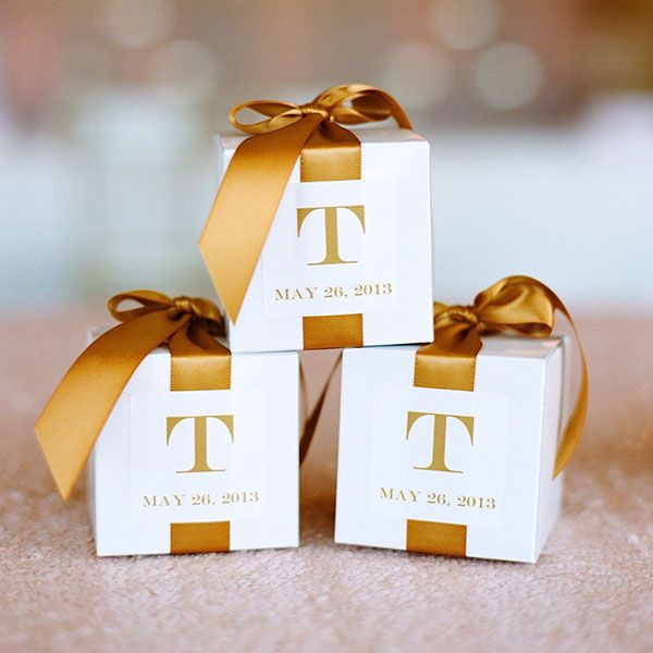 Wedding Favor Boxes For Chocolates : ... Ways to Personalize Your Wedding The ribbon, Wedding and The guest