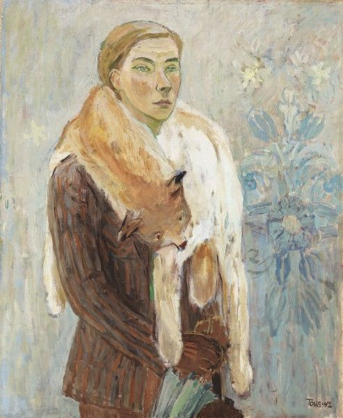 Tove Jansson: Lynx Boa (Self-Portrait) (1942).