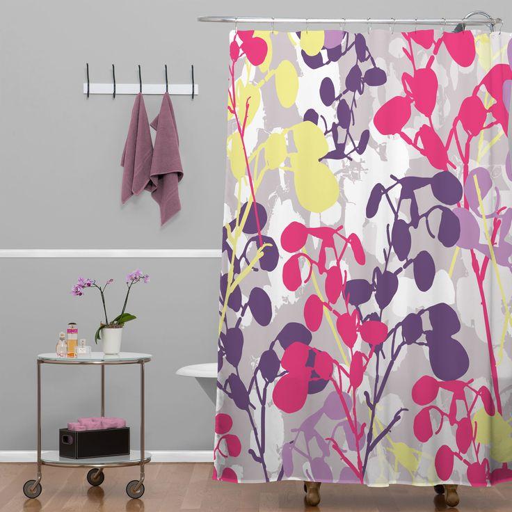 DENY Designs Rachael Taylor Textured Honesty Shower Curtain