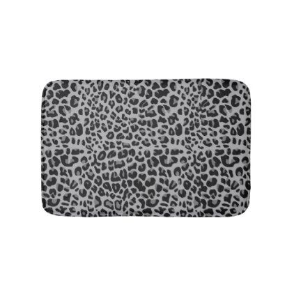Leopard Bathroom Mat - fancy gifts cool gift ideas unique special diy customize