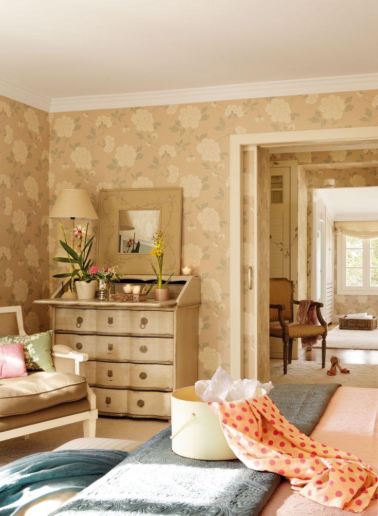 M s de 1000 ideas sobre papel pintado dormitorio en - Papel pintado para dormitorio ...