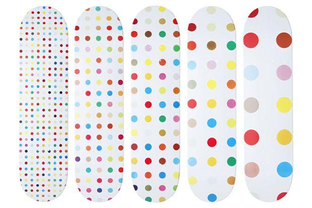 Hirst dots Supreme