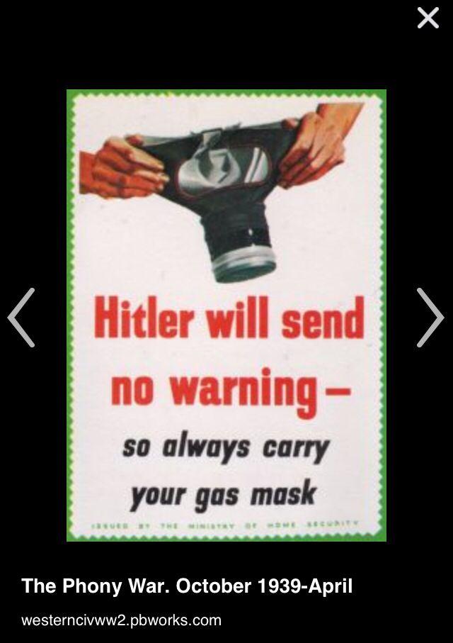 Nazi soviet pact Poland, the phoney war