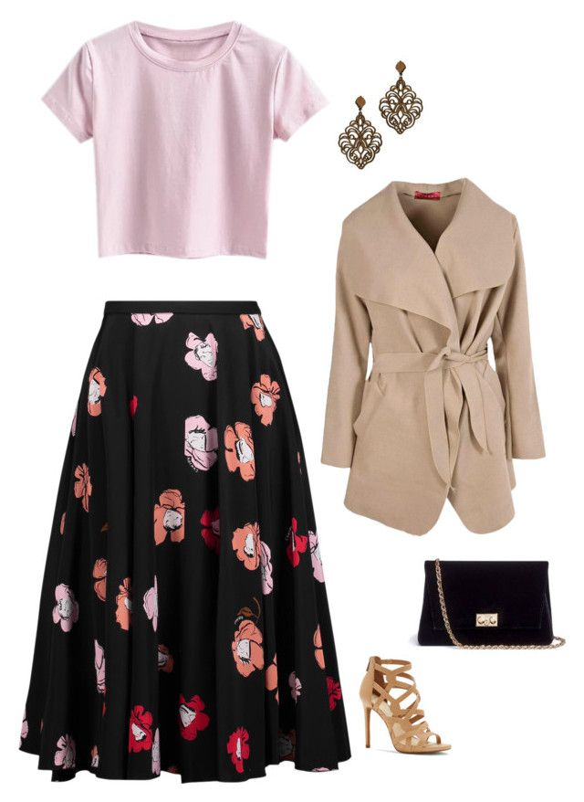 """""""Untitled #1836"""" by netteskytte on Polyvore featuring Rochas, Jessica Simpson, Boohoo and Rodo"""